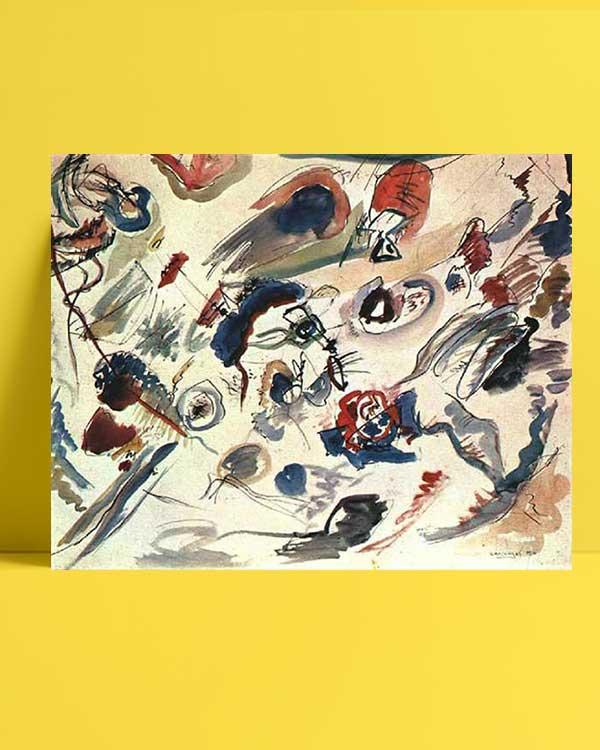 Vasili Kandinski - İlk Soyut Sulu Boya afişi