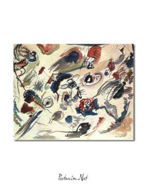 Vasili Kandinski - İlk Soyut Sulu Boya posteri