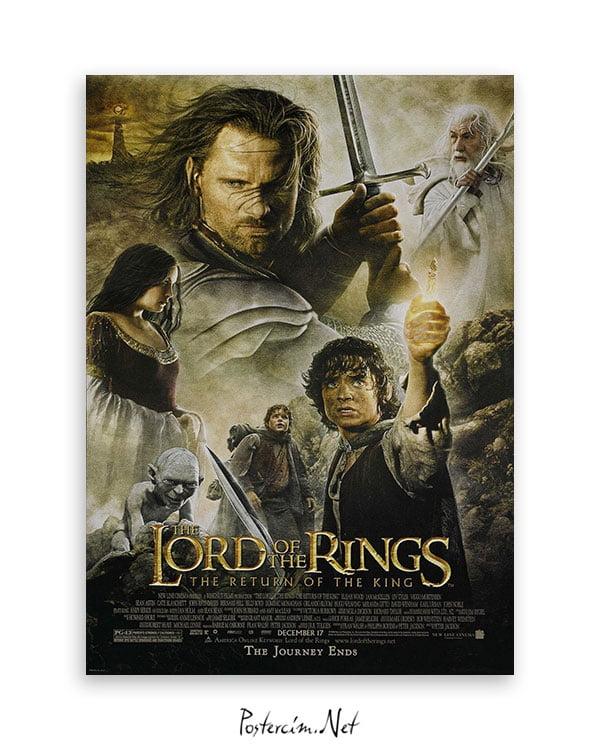 Yüzüklerin Efendisi: Kralın Dönüşü afiş