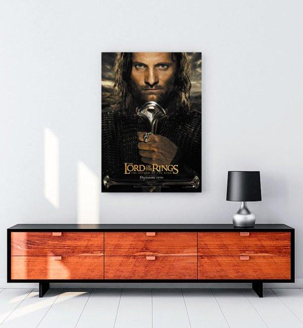 Yüzüklerin Efendisi: Kralın Dönüşü kanvas tablo