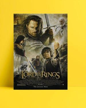 Yüzüklerin Efendisi: Kralın Dönüşü poster