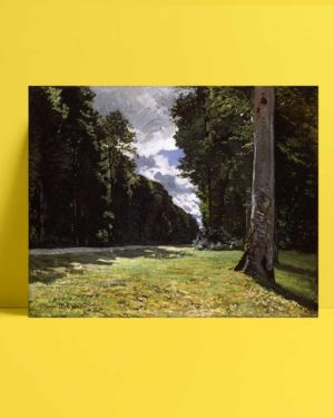Claude Monet - Chailly Yolu afişi