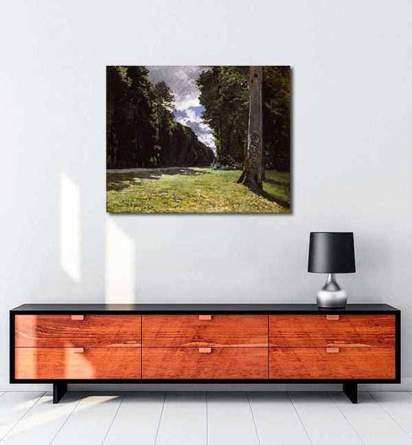 Claude Monet - Chailly Yolu kanvas tablo
