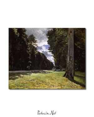 Claude Monet - Chailly Yolu posteri