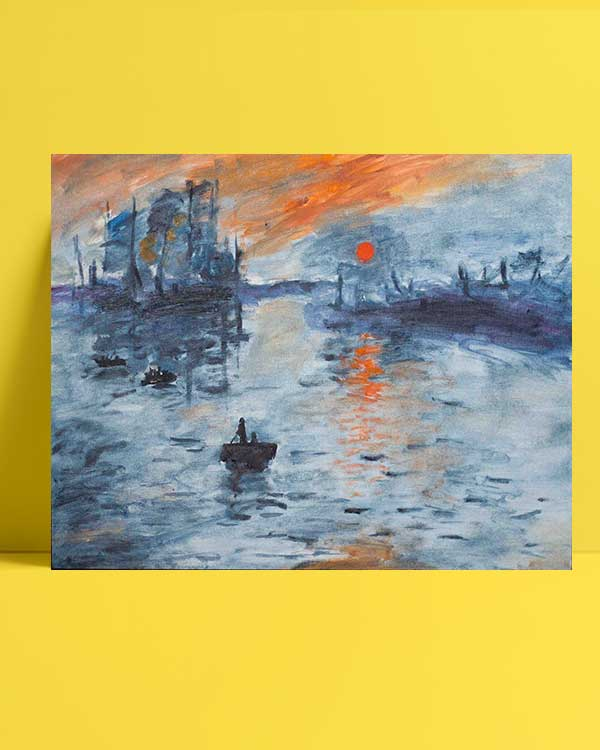 Claude Monet - İzlenim Gündoğumu afiş