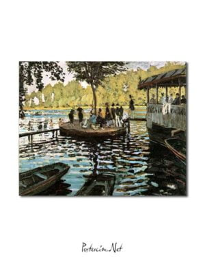 Claude Monet - La Grenouillere posteri