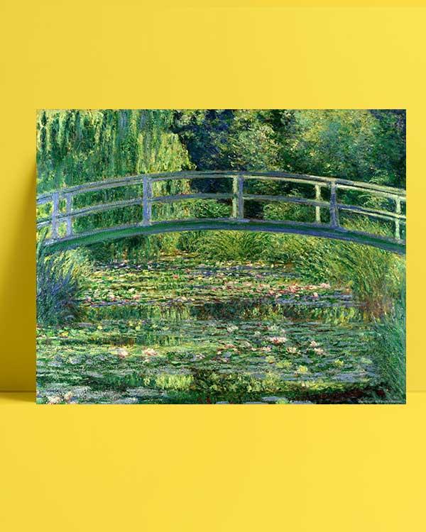 Claude Monet - Nilüfer Havuzu afişi