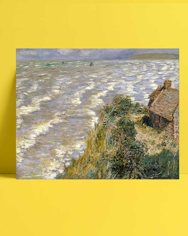 Claude Monet - Pourville'de Medcezir afişi