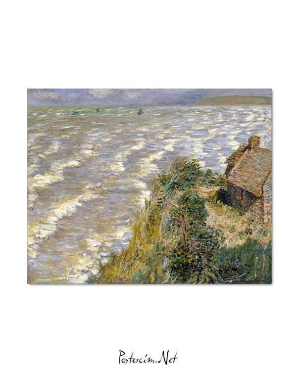 Claude Monet - Pourville'de Medcezir posteri