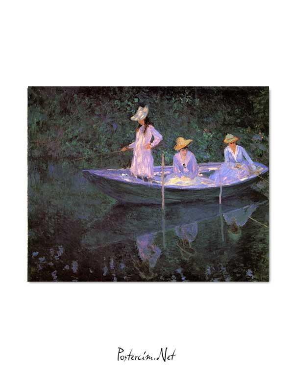 Claude Monet - Sandalda posteri