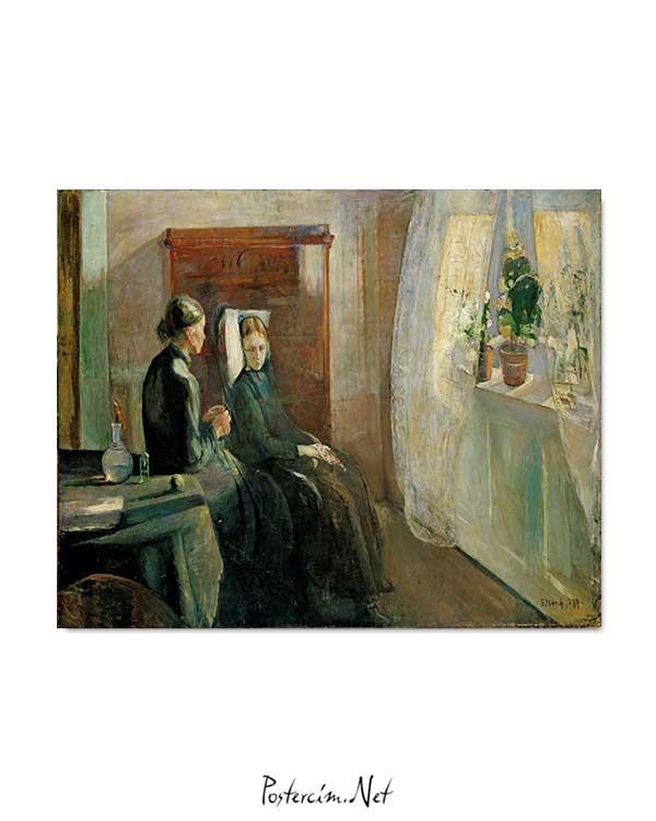 Edvard Munch - Bahar posteri