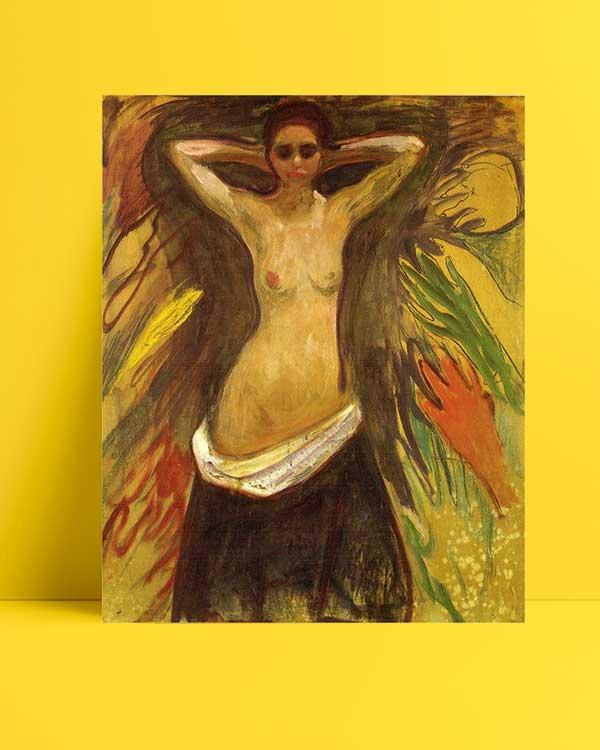 Edvard Munch - Eller afişi