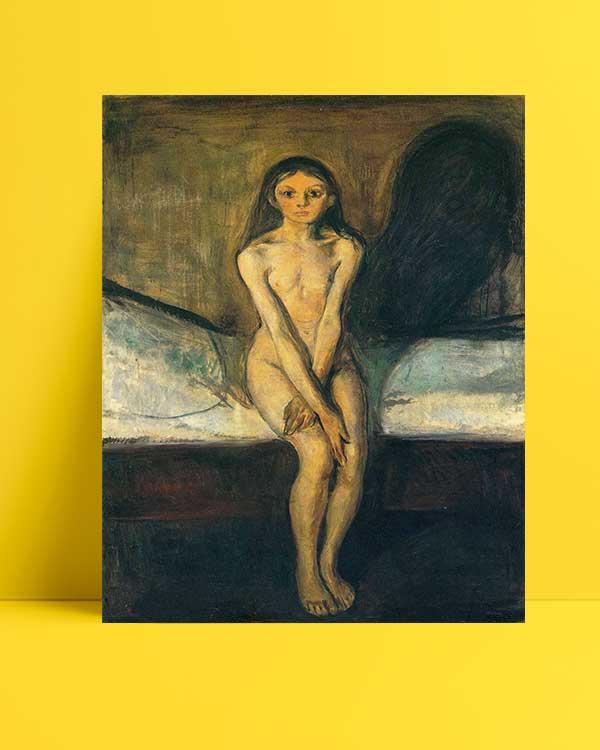 Edvard Munch - Ergenlik afişi