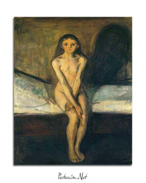 Edvard Munch - Ergenlik posteri