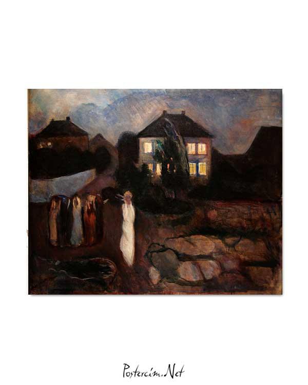 Edvard Munch - Fırtına posteri
