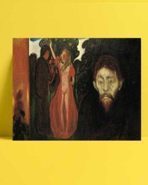 Edvard Munch - Kıskançlık afişi