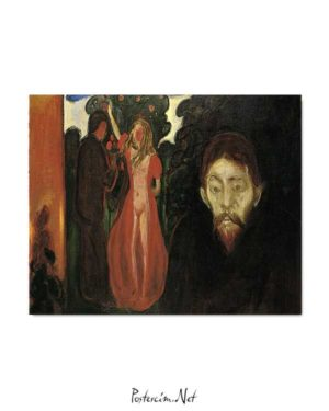 Edvard Munch - Kıskançlık posteri
