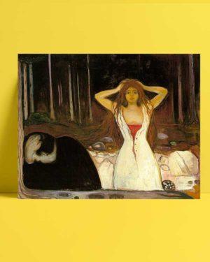 Edvard Munch - Küller afişi
