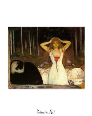 Edvard Munch - Küller posteri