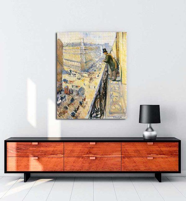 Edvard Munch - Lafaette Caddesi kanvas tablo