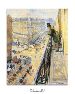 Edvard Munch - Lafaette Caddesi posteri