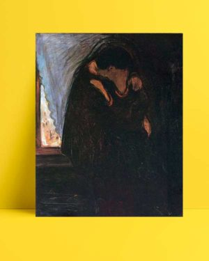 Edvard Munch - Öpücük afişi