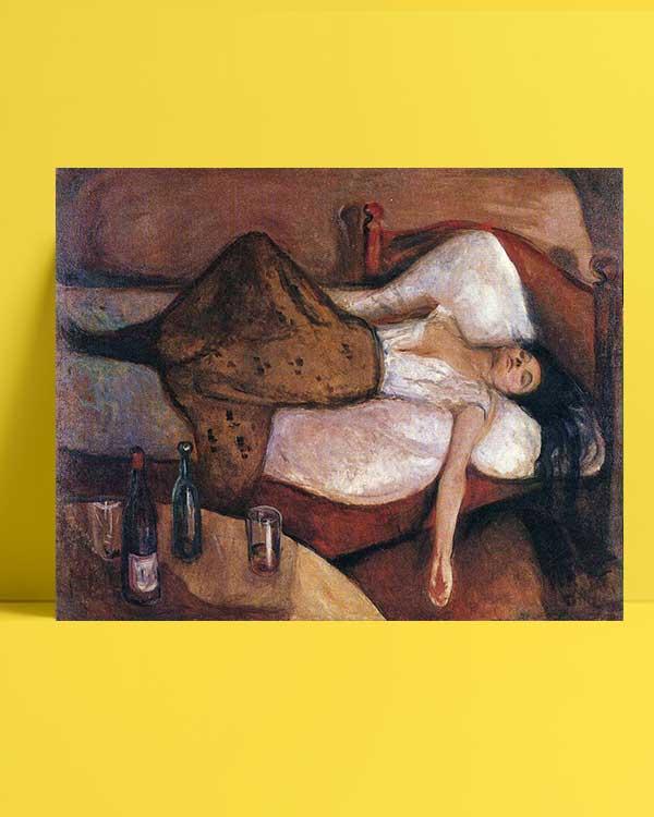 Edvard Munch - Sonraki Gün afişi