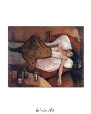 Edvard Munch - Sonraki Gün posteri