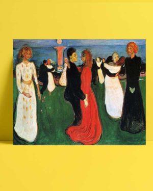 Edvard Munch - Yaşamın Dansı afişi