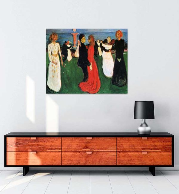 Edvard Munch - Yaşamın Dansı kanvas tablo