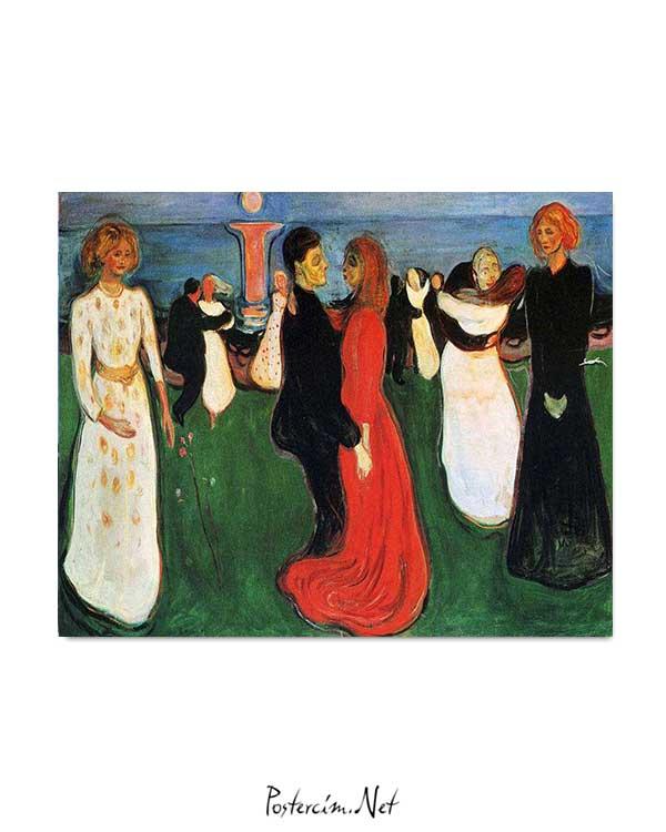 Edvard Munch - Yaşamın Dansı posteri