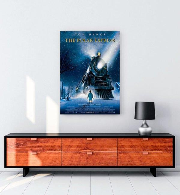 The Polar Express kanvas tablo