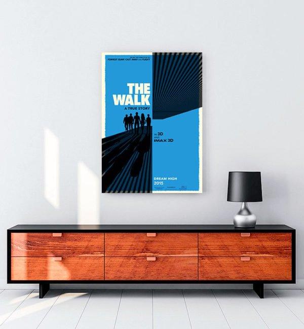 The Walk kanvas tablo
