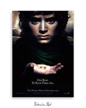 Yüzüklerin Efendisi: Yüzük Kardeşliği afiş