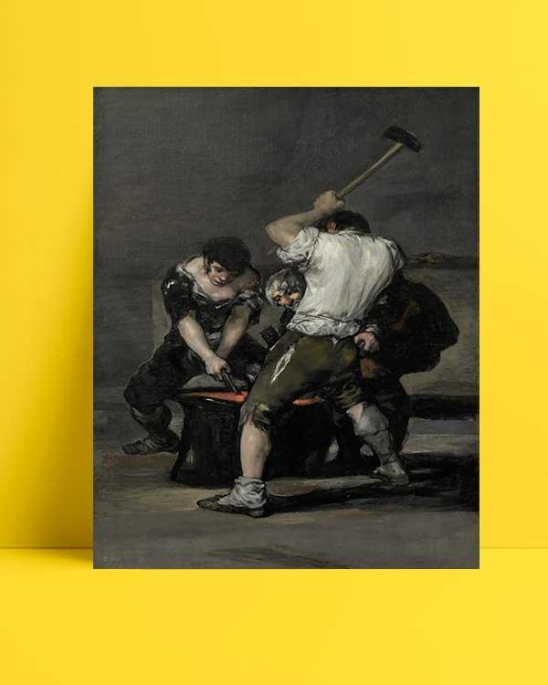 Francisco Goya - Demir Dövme afişi
