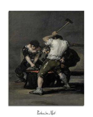 Francisco Goya - Demir Dövme posteri
