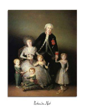 Francisco Goya - Dük Osuna'nın Ailesi posteri
