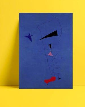 Joan Miró – Mavi I afişi