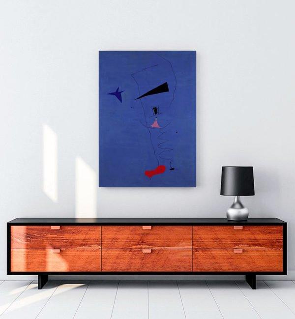 Joan Miró – Mavi I kanvas tablo