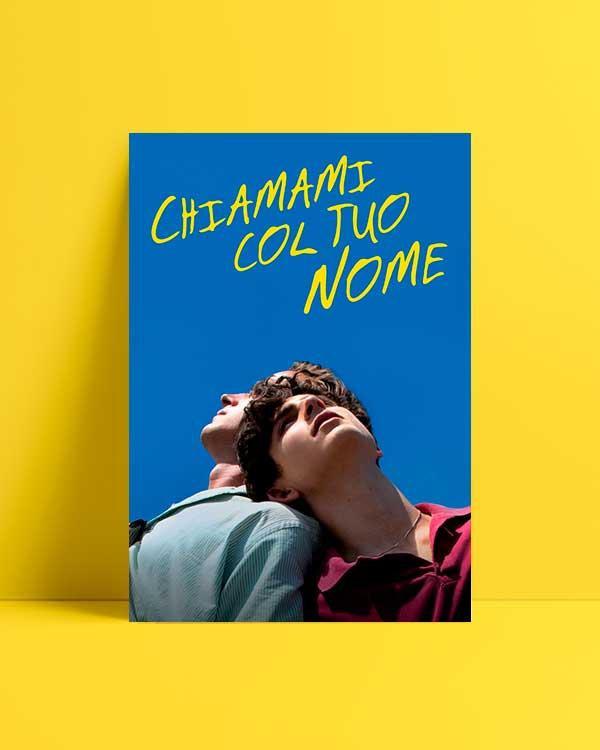 Beni Adınla Çağır film afiş