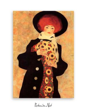 Woman With Black Hat poster