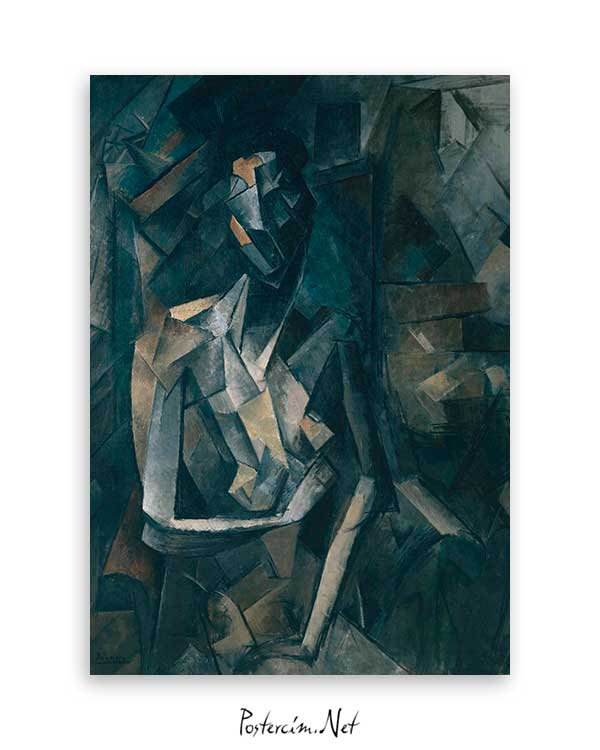 Seated Nude, Femme Nue Assise poster