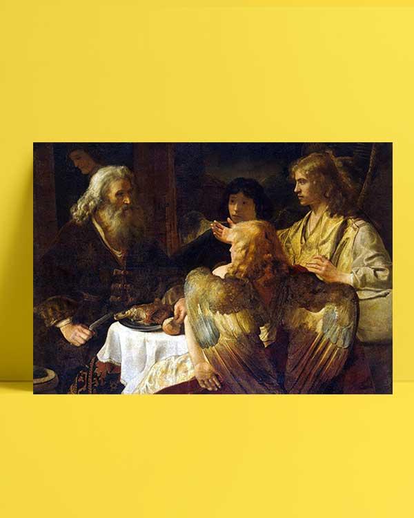 Abraham and The Three Angels afiş