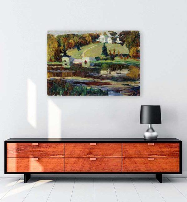 Akhtyrka Autumn kanvas tablo