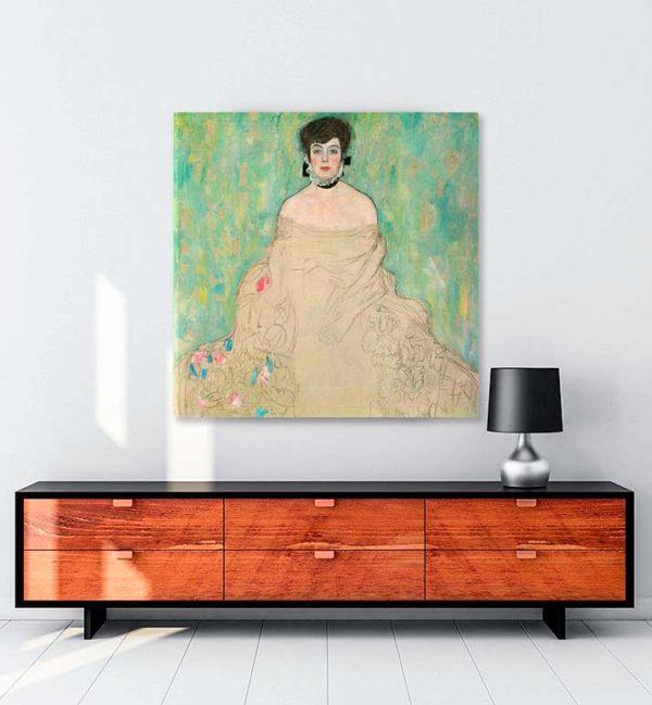 Amalie Zuckerkandl kanvas tablo