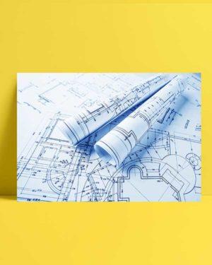 Architectural afiş