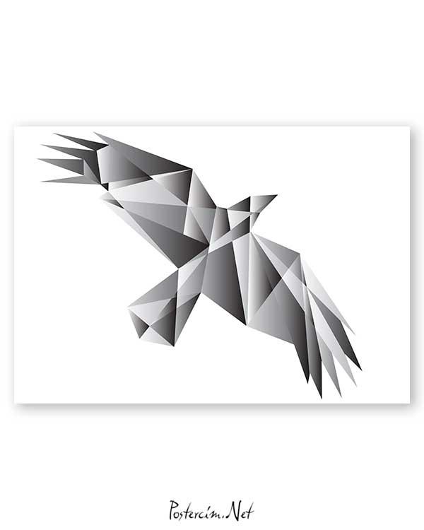 Architectural Bird poster