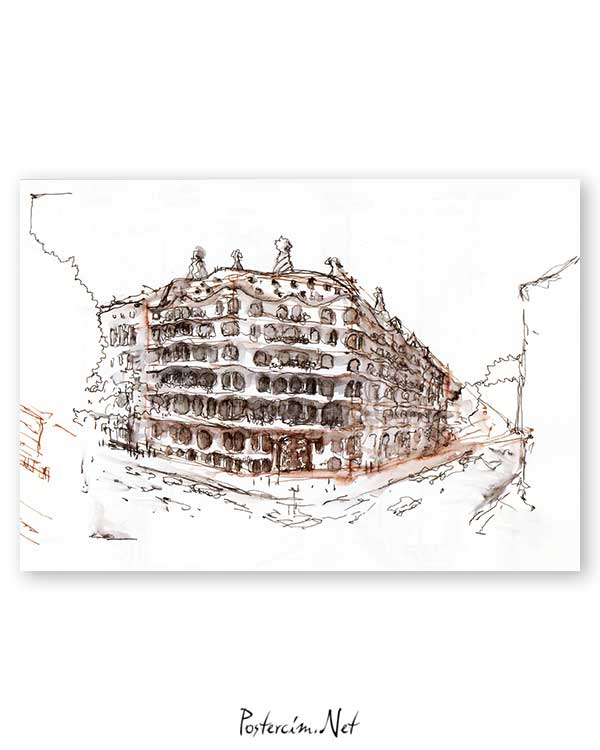 Architectural Drawings 10 poster