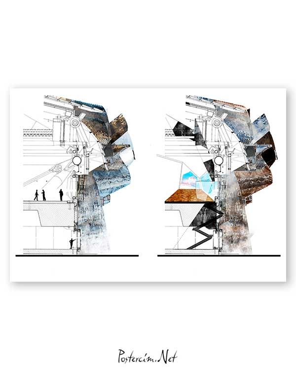 Architectural Drawings 15 poster