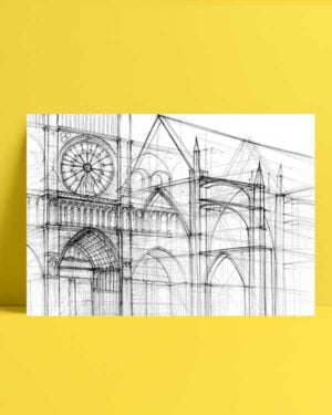 Architectural Drawings 5 afiş
